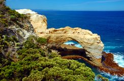 O arco, grande estrada do oceano, Austrália. Imagens de Stock Royalty Free