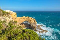 O arco, grande estrada do oceano, Victoria, Austrália Foto de Stock Royalty Free
