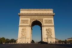 O arco triunfal, Paris, França Fotos de Stock