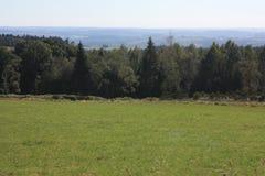 O Ardenne no lugar La Roche em Bélgica Imagem de Stock