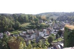 O Ardenne no lugar La Roche em Bélgica Imagens de Stock Royalty Free