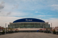 O2 Arena in Berlin Stock Photo