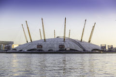 O2 Arena. The O2 Arena at Canary Wharf Royalty Free Stock Image