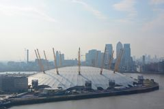 O2 Arena at Greenwich, London, England Stock Photography