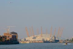 O2 Arena at Greenwich, London, England. Stock Photo
