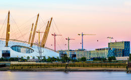 O2 Arena in London Stock Images