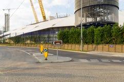 O2 arena Londres Imagem de Stock Royalty Free