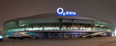O2 Arena Royalty Free Stock Image