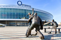 O2 arena, Vysocany, Praga, República Checa Imagen de archivo