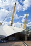 O2 arena w Londyn (milenium kopuła) obrazy stock