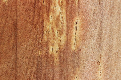 O arenito áspero de superfície grosseiro é fundo marrom Fotografia de Stock
