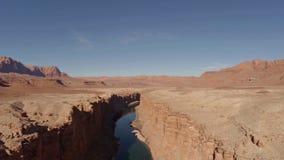 O Arizona aéreo Grand Canyon video estoque