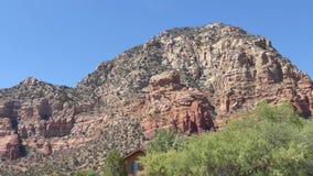 O Arizona, Sedona, bandeja de A através do Bute do Capitólio, igualmente conhecido como a montanha do trovão filme