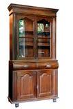 O armário de madeira do estilo asiático antigo de Tailândia isolou-se no whi Foto de Stock Royalty Free