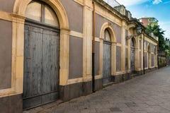 O armazém velho siciliano Imagens de Stock