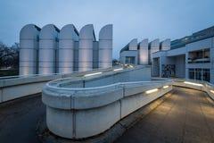 O arquivo do Bauhaus é um museu do Bauhaus projetado por seu próprio arquiteto Walter Gropius do fundador imagem de stock