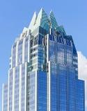 O arranha-céus da torre do banco de Frost em Austin Texas do centro Foto de Stock Royalty Free