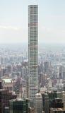 O arranha-céus residencial o mais alto dos mundos em Manhattan Imagem de Stock Royalty Free