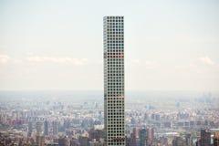 O arranha-céus residencial o mais alto dos mundos em Manhattan Fotografia de Stock