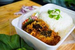 O arroz da caixa é feito fácil Fotos de Stock Royalty Free