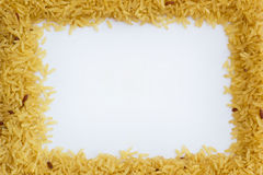 O arroz integral é Healthy Choice Foto de Stock Royalty Free