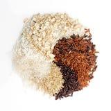 O arroz tailandês da carga é a criação dos eaperts e do Jap tailandeses do arroz Imagem de Stock