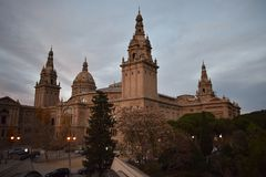 O ` Art de Catalunya - Barcelona de Museu Nacional d imagem de stock royalty free