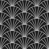 O art deco Gatsby retro escala o teste padrão sem emenda ilustração royalty free