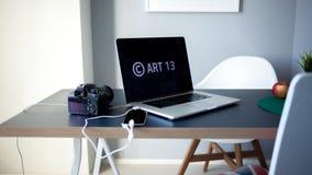 O artigo 13 a alteração à legislação de UE proibiu materiais dos meios no Internet imagens de stock