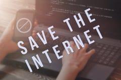 O artigo 13 a altera??o ? legisla??o de UE proibiu materiais dos meios no Internet fotografia de stock royalty free