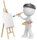 O artista ilustração stock