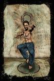 O artista marcial Imagem de Stock