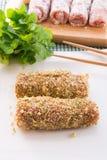 O asiático melhora a azeitona Fotografia de Stock