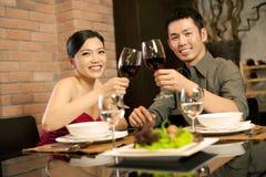 O Asian acopla o estilo de vida Imagem de Stock