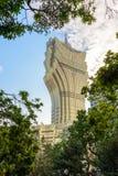 O asino famoso Lisboa grande do  de Ñ em Macau imagem de stock