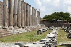 O Asklepion em Pergamon foto de stock