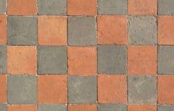 O assoalho ? feito da pedra de cores diferentes Textura ou fundo ilustração stock