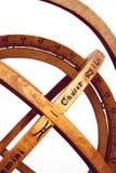 O astrolabe sferical. Fotos de Stock