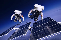 O astronauta Imagens de Stock