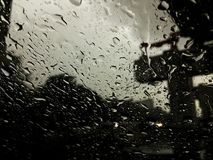 O ataque da chuva Fotos de Stock