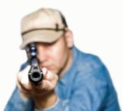 O atirador Fotografia de Stock