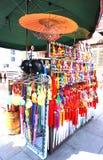 O ato tradicional da tenda o papel que ofing é provado Imagem de Stock