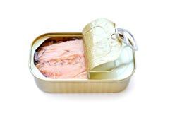 O atum pode Imagem de Stock Royalty Free