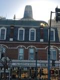 O ` Audiffret Building de Hippolite D, desde 1889, 1 foto de stock
