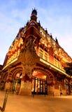 O auditório de Catalana em Barcelona Imagem de Stock Royalty Free