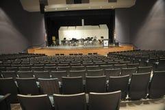 O auditório vazio senta-se de modo operacional imagem de stock