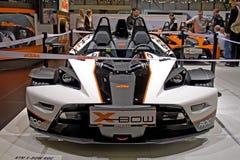 O auto salão de beleza 2009 de Genebra X-curva KTM Imagem de Stock