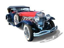 O automóvel clássico Duesenberg- do vintage isolou-se foto de stock royalty free