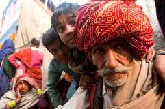 O avô com a família Imagem de Stock Royalty Free