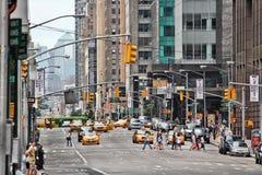 6o Avenida, New York Imagens de Stock Royalty Free